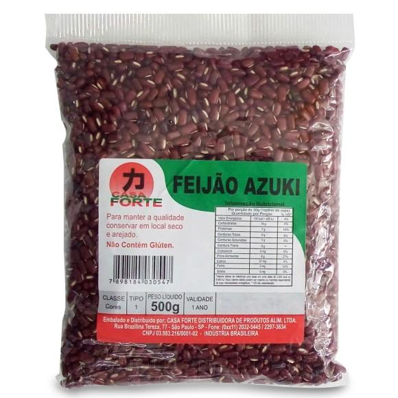 FEIJÃO AZUKI 500G CASA FORTE
