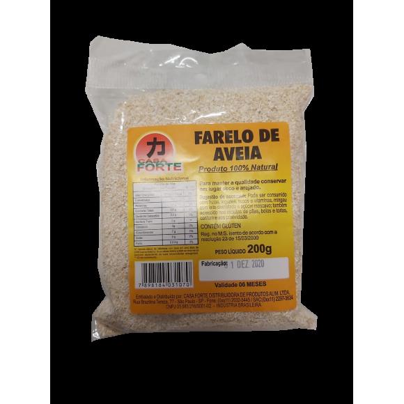 FARELO DE AVEIA 200G CASA FORTE